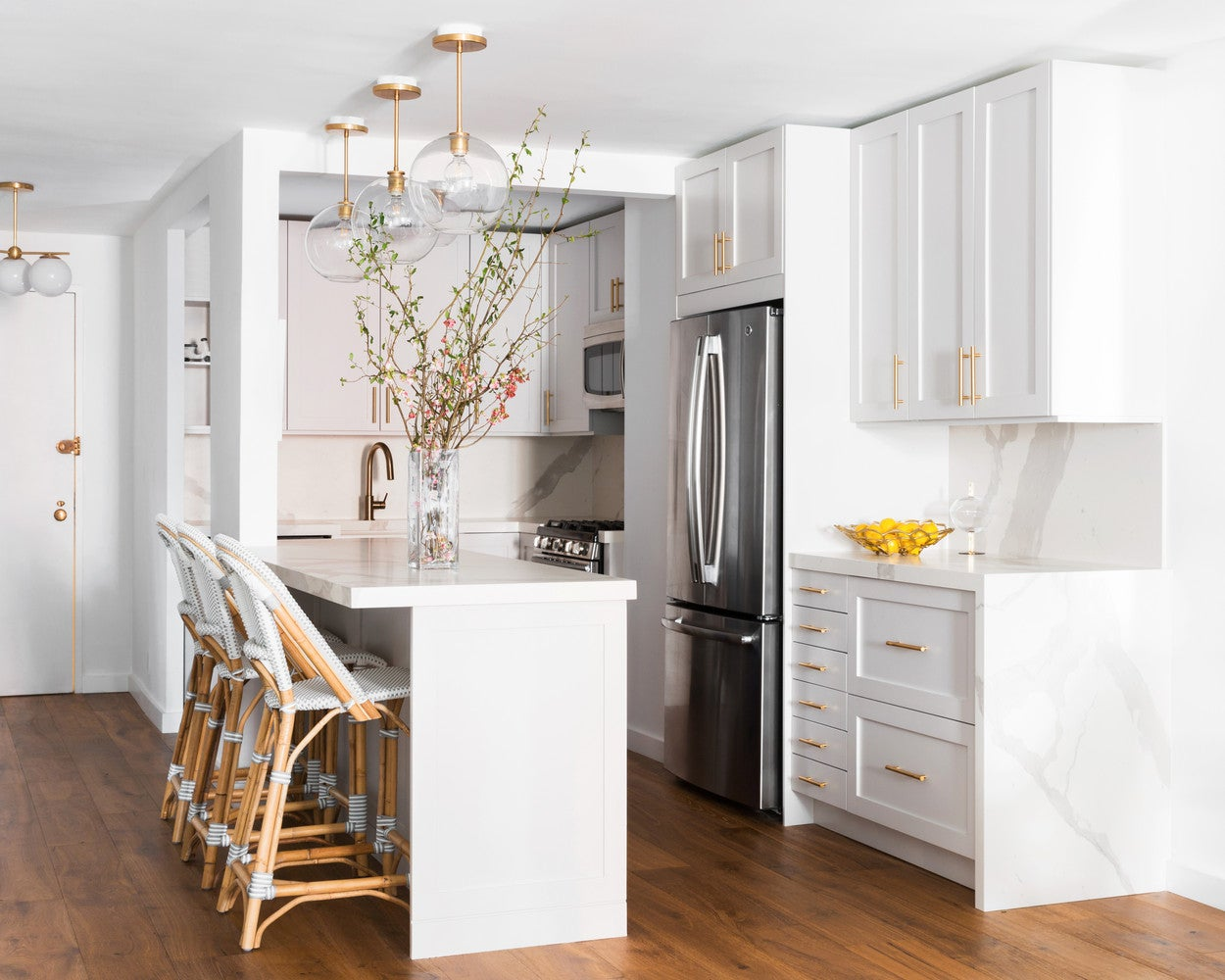 NYC Gramercy Park French Country Kitchen Makeover