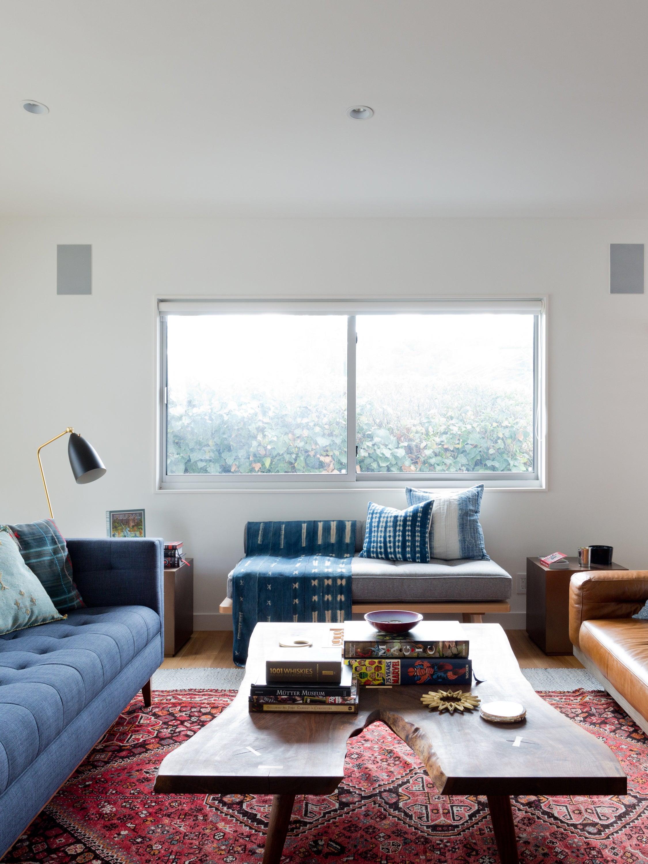How to Hack an Open Floor Plan Living Room
