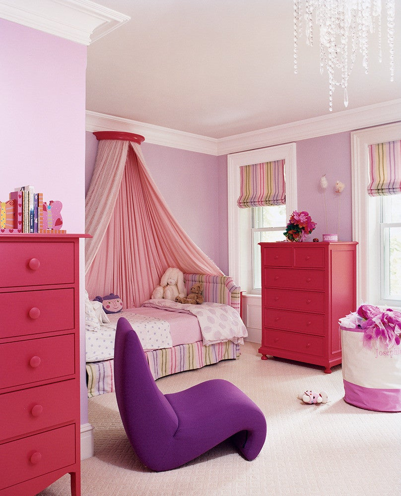 10 Paint Color Ideas For Girls Bedrooms Domino