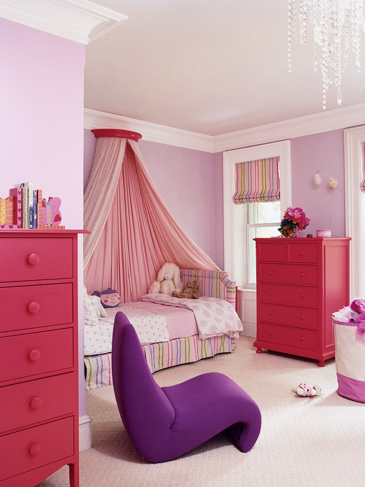 paint color ideas for girls' bedrooms