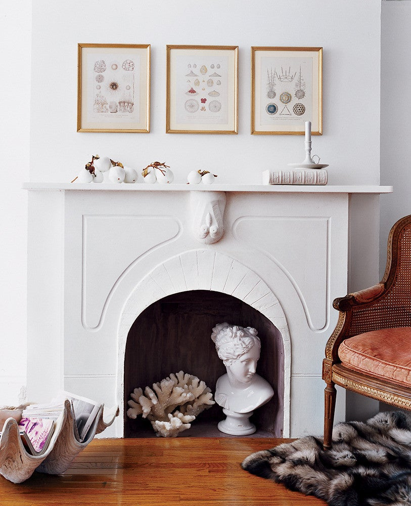 chic mantel decorating ideas for spring