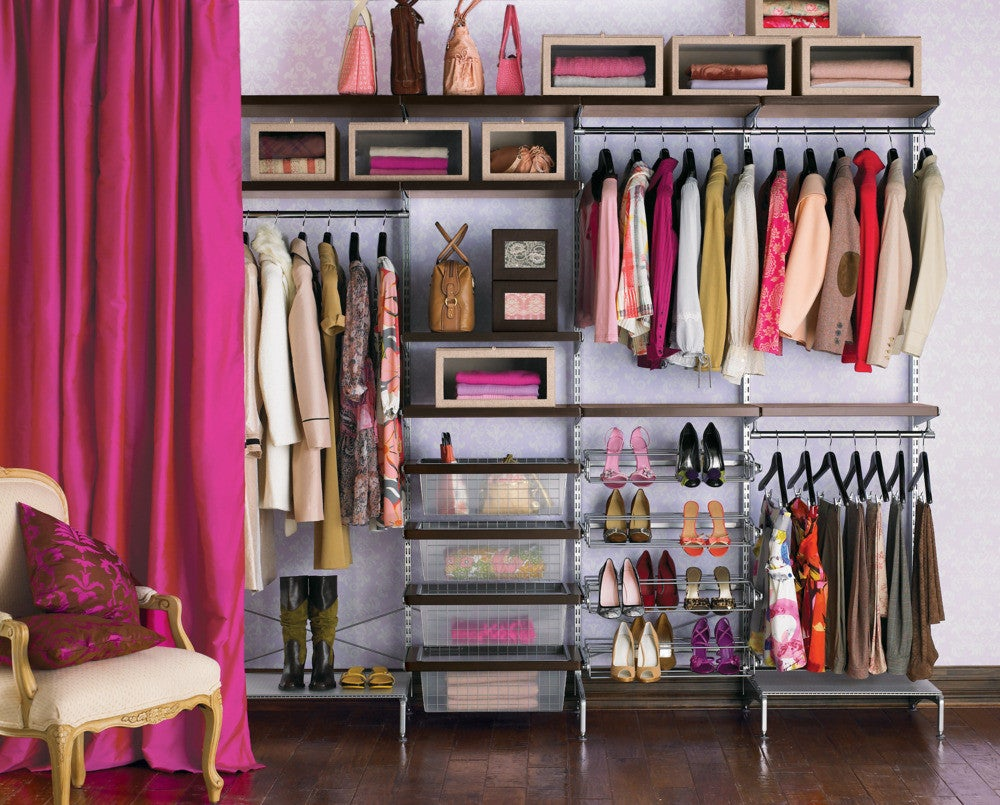 rules to live by if you have an exposed closet