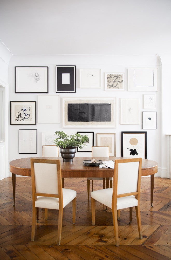 West Village Townhouse Alison Cayne Brown Dining room
