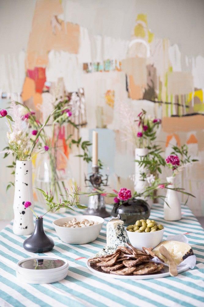 creative spring table decor