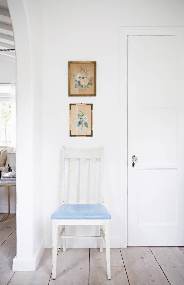 Anne Ziegler White Hallway
