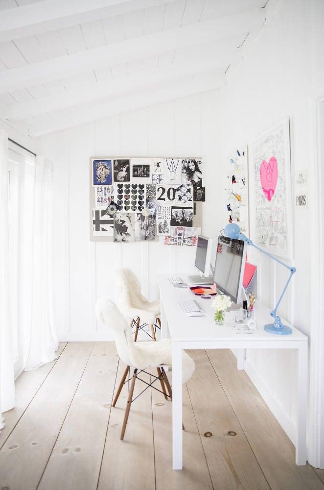 Anne Ziegler White Gallery Wall