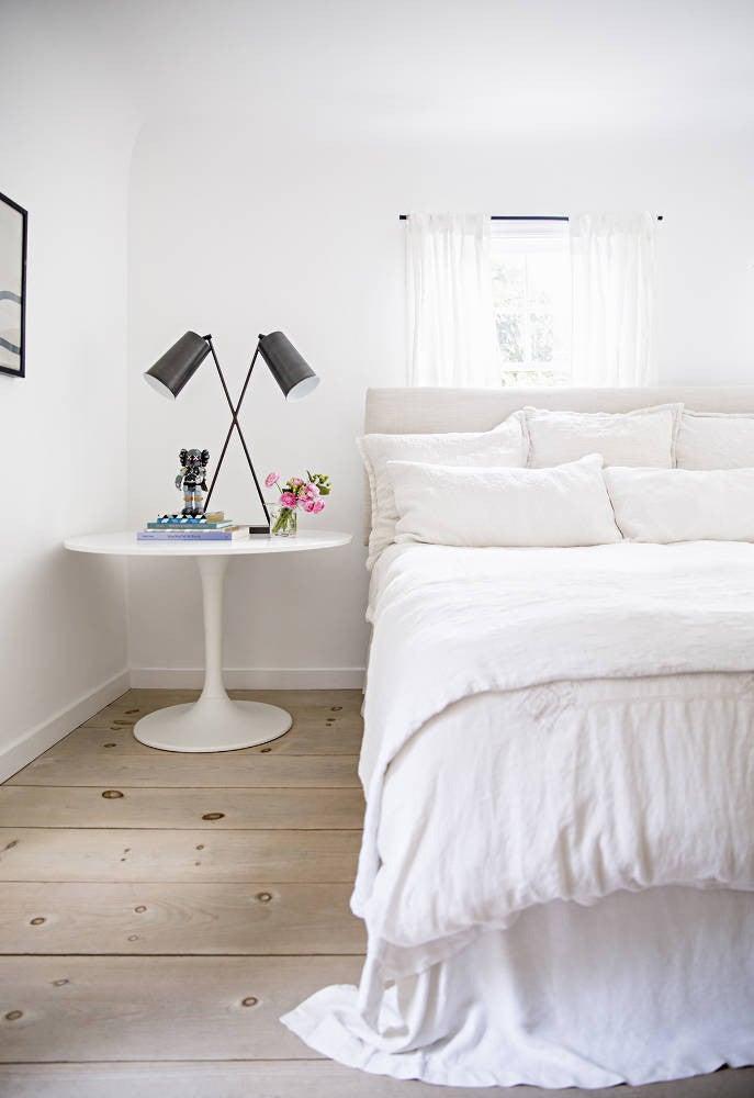 Anne Ziegler White Bedroom