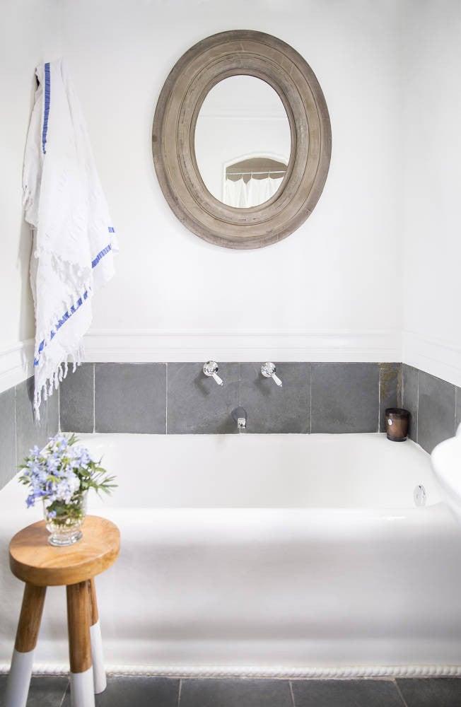 Anne Ziegler White Bathroom