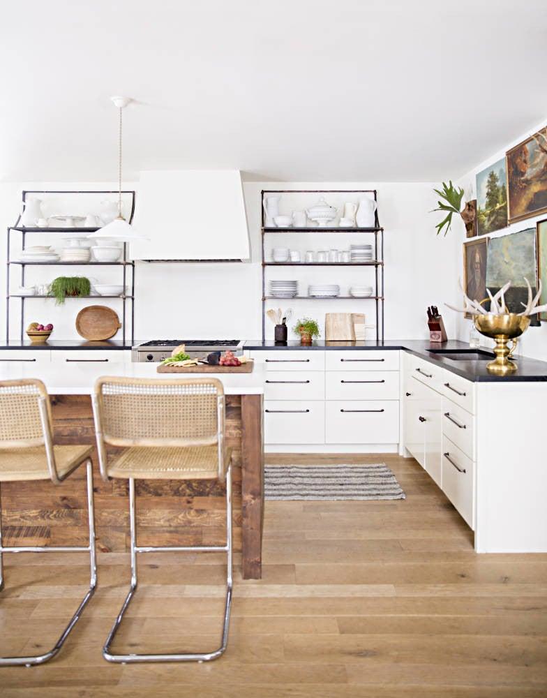 Lauren Liesss White Wood Kitchen