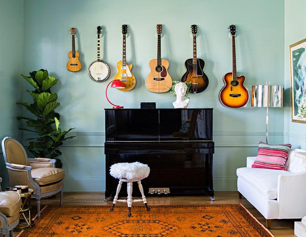 Guitar decor inspiration