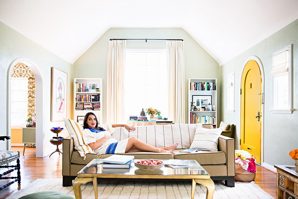heather taylor: a colorful los angeles home renovation