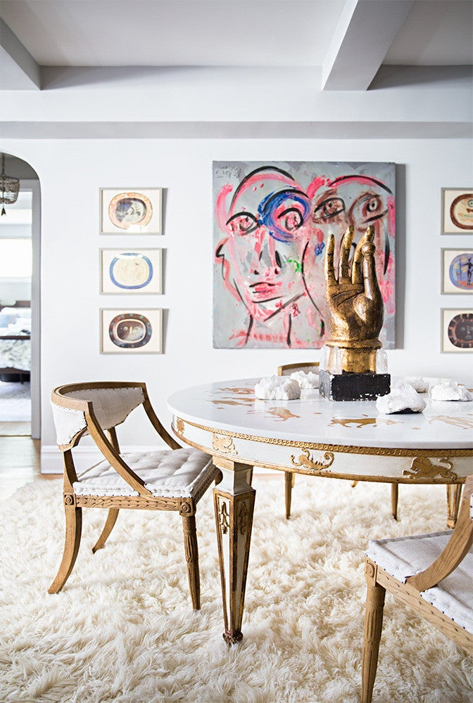 natane boudreau: a cozy and chic designer nyc apartment
