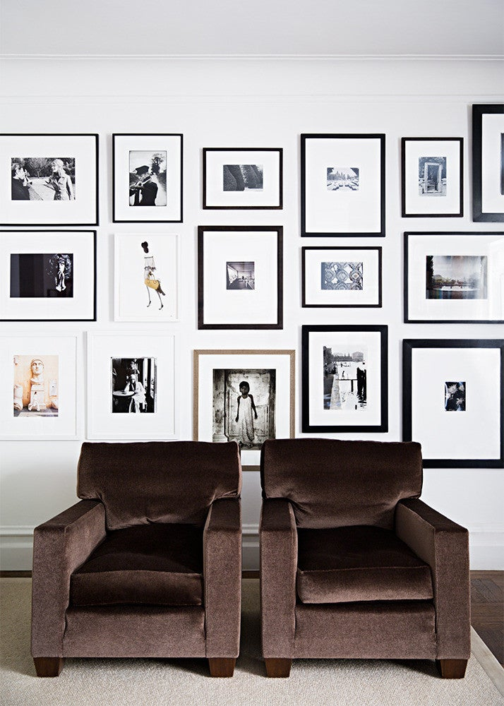 Black and Brown Gallery Wall