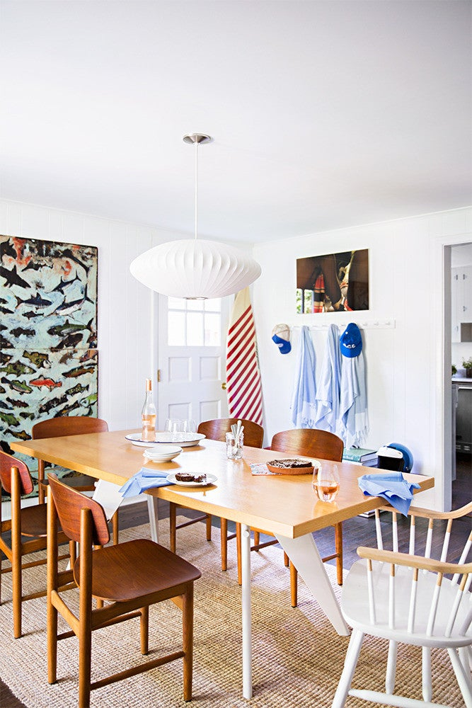 Wood Dining room