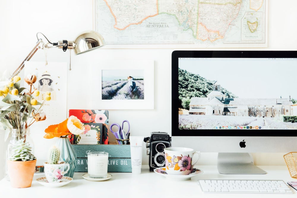 How To Organize Home Office For Productive Work Space,Smart Home Systems Reviews