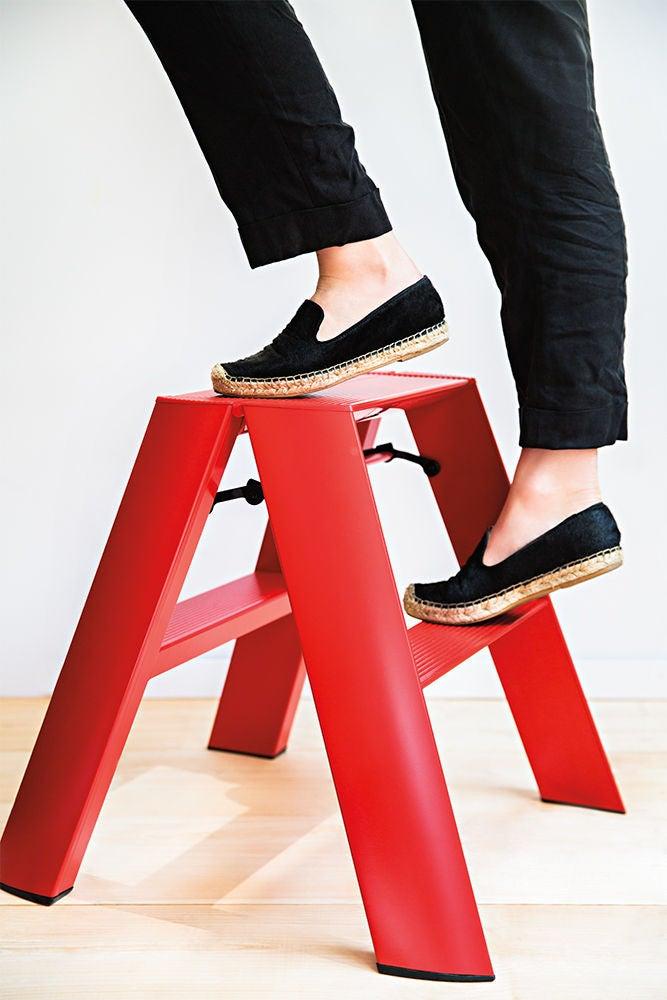 a stylish stepladder