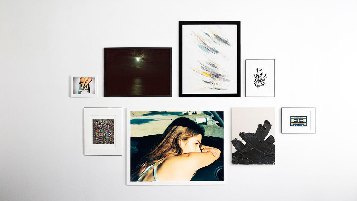 video: 3 ways to hang a gallery wall