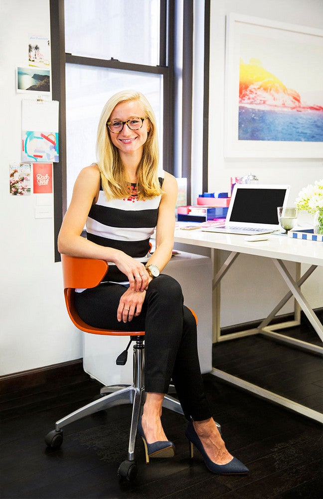 our managing editor on analog clocks, open offices, & the best advice she's heard at domino
