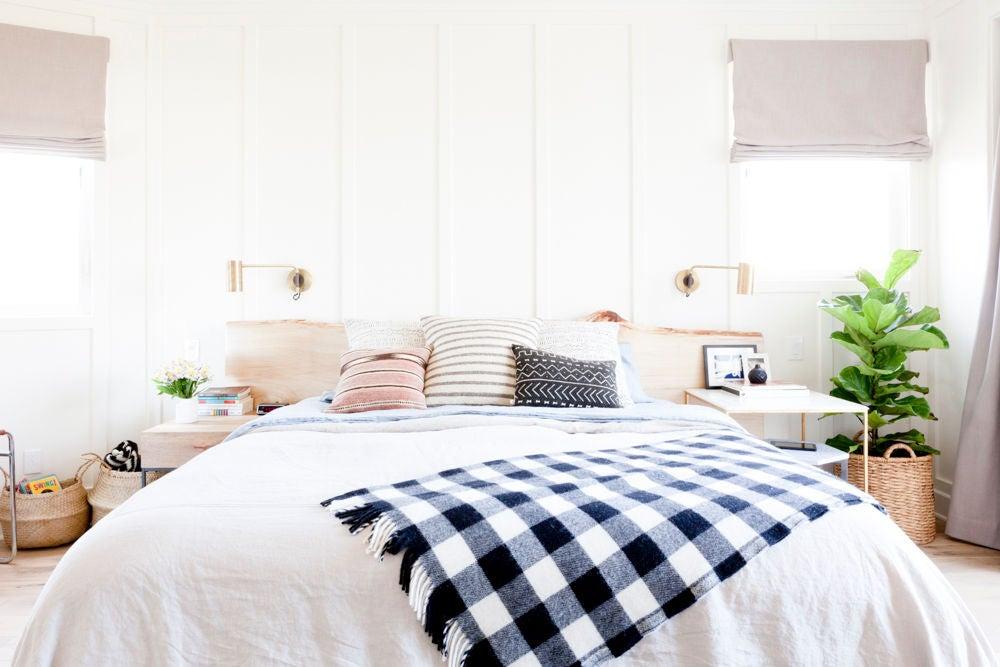 Bohemian Decor White Bedroom