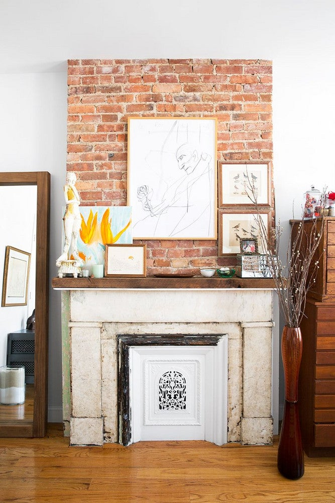 Brown and Taupe Gallery Wall