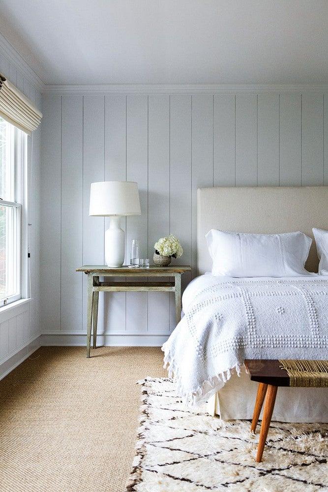 Jenni Kayne Brown and White Bedroom