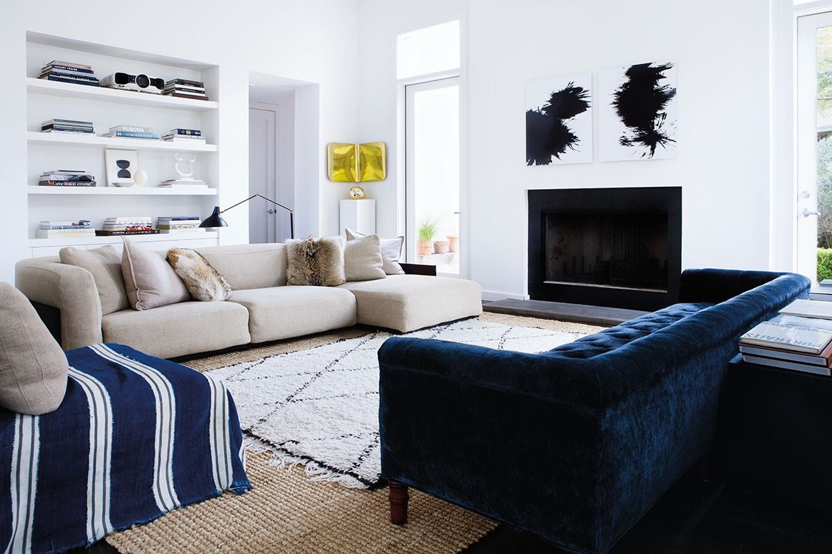 29 Gold Living Room Design Ideas For 2019 Domino