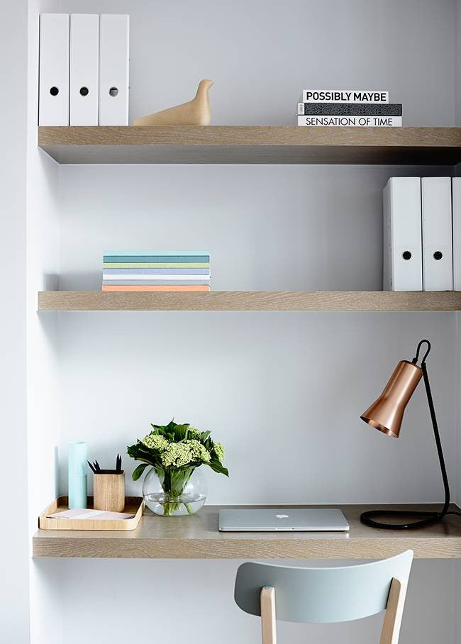 Home Office Organization Tips White Office