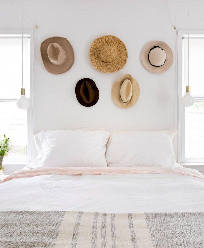 Claire Zinnecker White Bedroom
