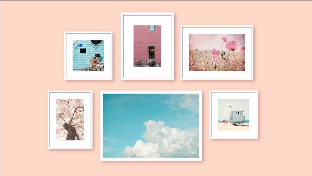 3 gallery walls / 3 ways