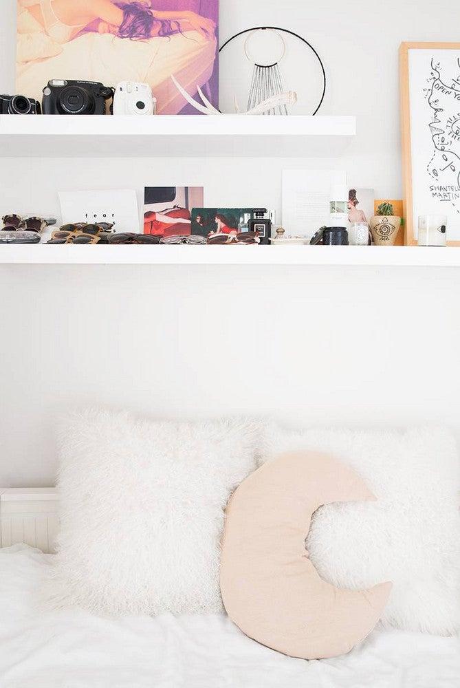 Alyssa Coscarelli's Williamsburg Apartment White Bedroom