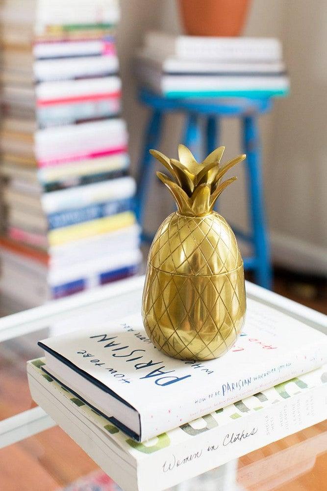 Alyssa Coscarelli's Williamsburg Apartment Gold Vignette