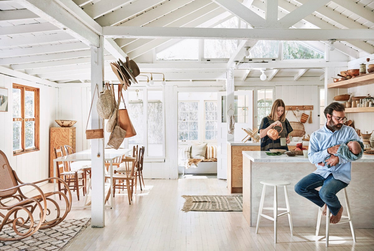 The Plywood Kitchen in the General Store Founder's Home Is a Thing to Behold