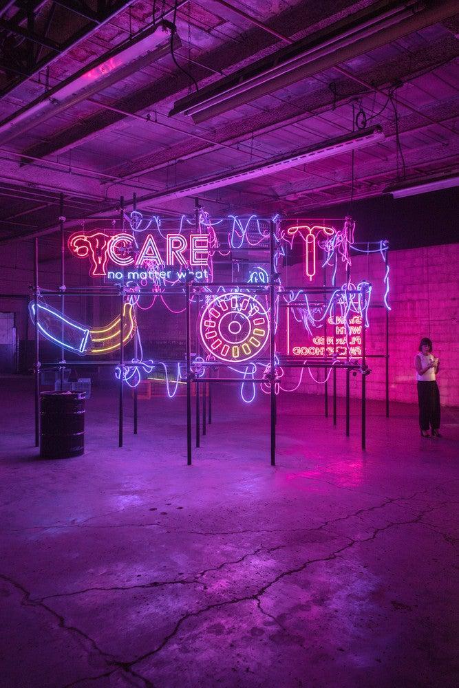 29rooms decor neon