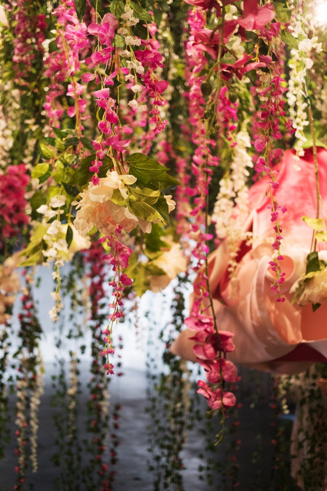 29rooms decor floral