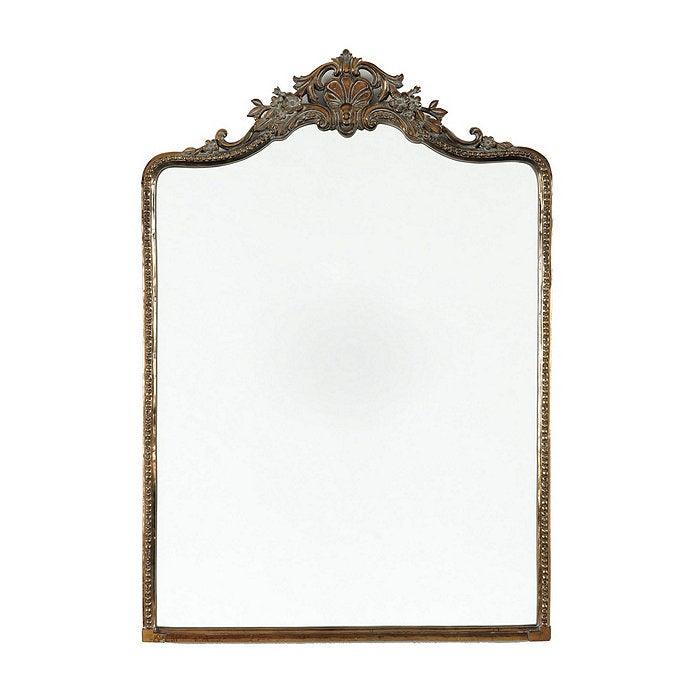 gilded antique mirror