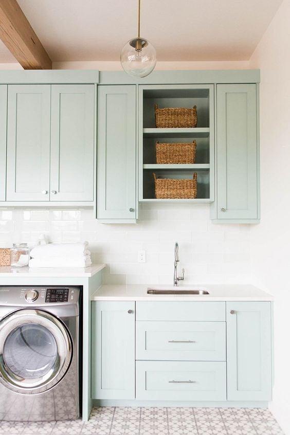 Mint-Green-Laundry-Room