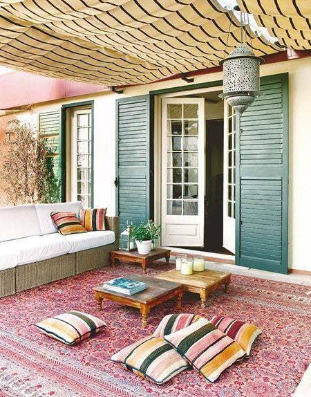 Outdoor Patio & Furniture Decorating Ideas