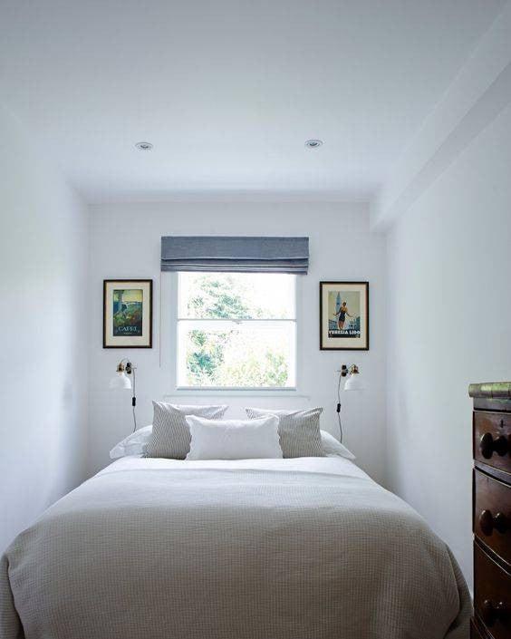 No Headboard Ideas serene bedroom