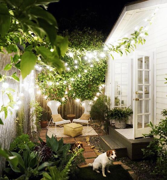 Patio String Light Ideas Whitney Leigh Morris Backyard