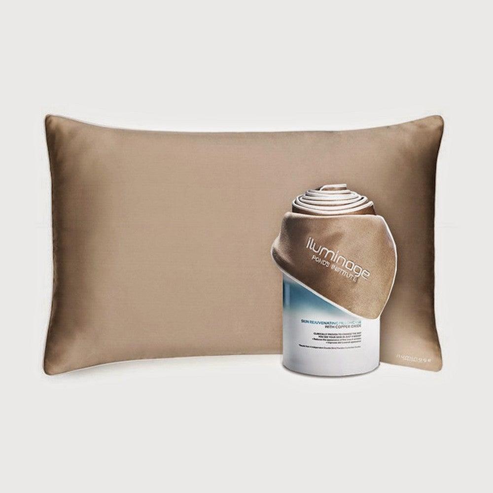 8 Tips to Get Prettier While You Sleep copper pillowcase