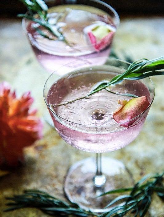 11 Seriously Refreshing Lemonade Cocktail Recipes: Rose and Tarragon Gin Lemonade