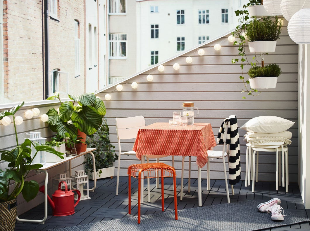 Ikea Outdoor Furniture Best Patio Decor Small Spaces