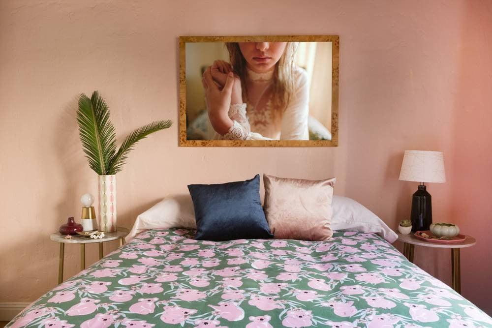 Best Bedroom Decor of 2017- 70s inspired