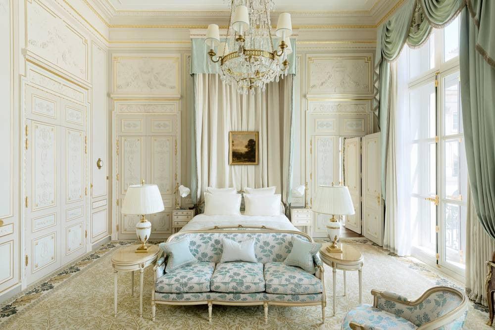 Best Bedroom Decor of 2017- the ritz paris