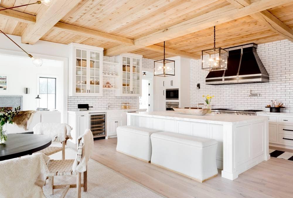 Kitchen Inspiration 2017: cozy farmhouse