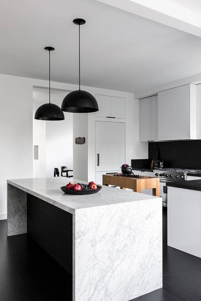 Kitchen Inspiration 2017: black and white decor