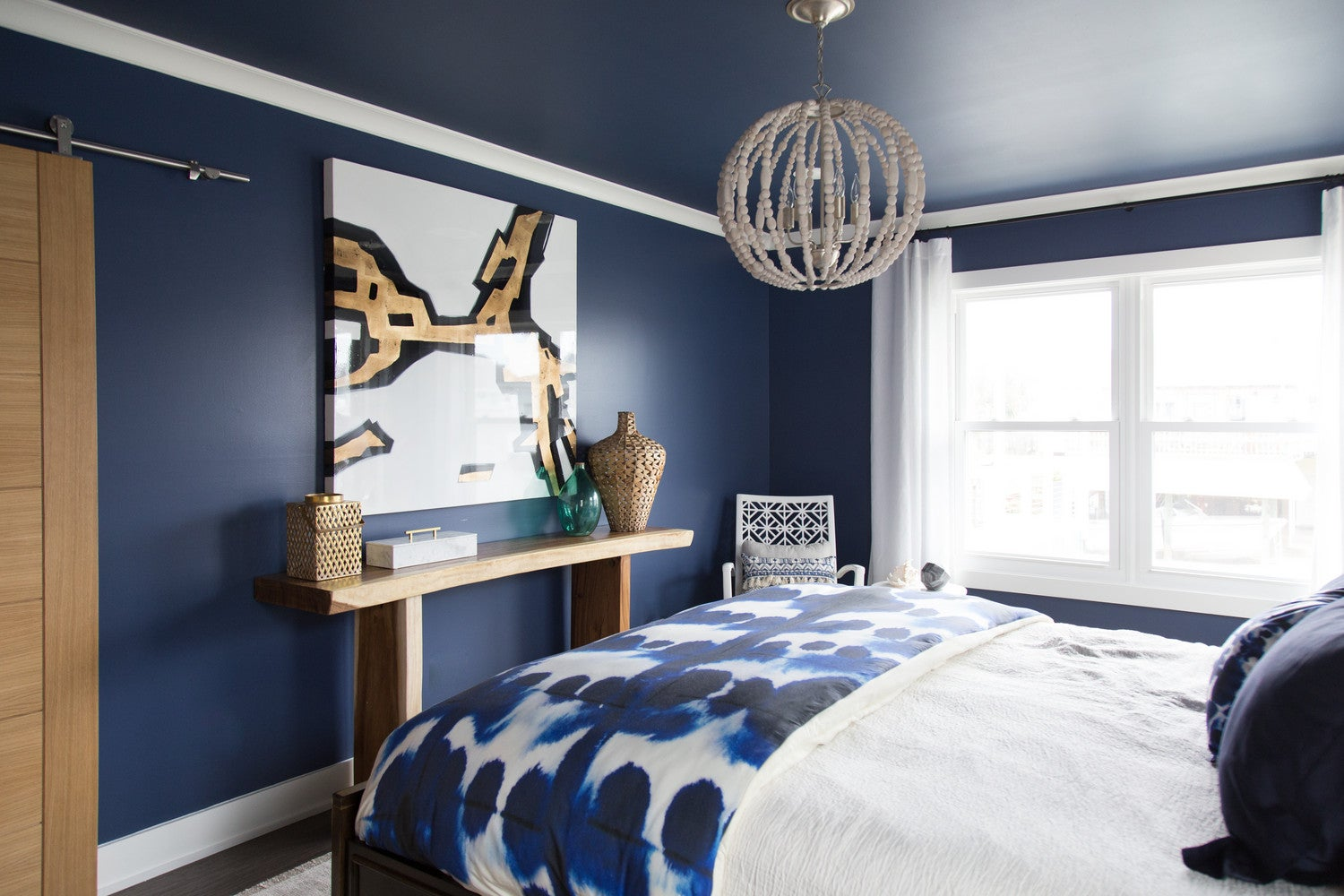 How To Style Dark Bedroom Walls Tips Paint Color Guide