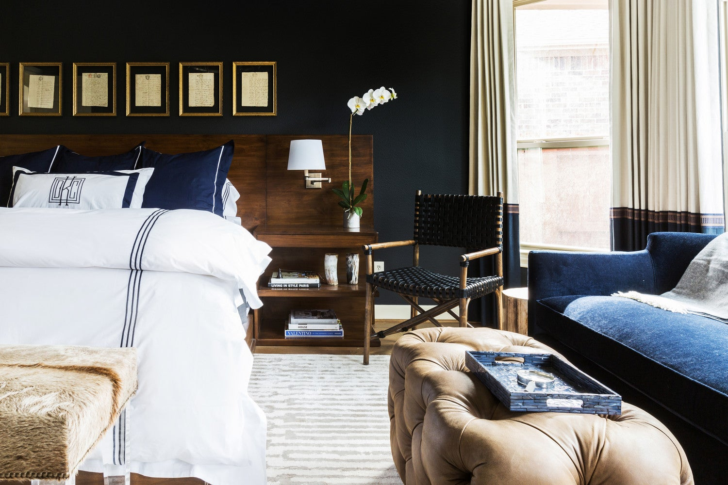 Why You Should Paint Your Bedroom a Dark Color