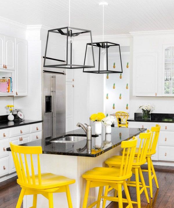 yellow decor trend