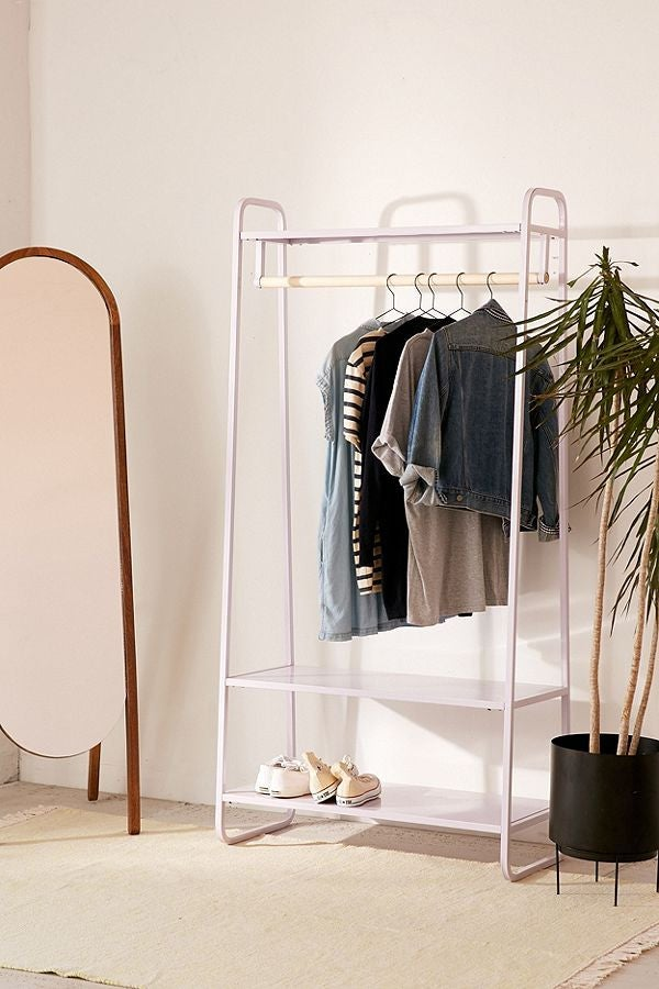 Where to Put Your Stuff When You Don't Have Room for a Dresser
